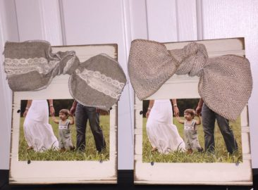 Two 4x6 frames by Snooty Toot Frame Company